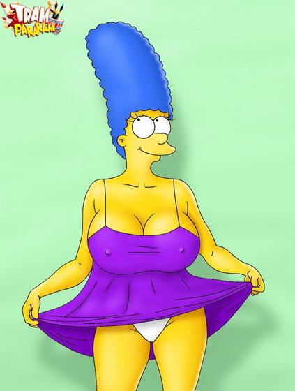 Marge Simpson mature porn comics