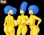 Marge Simpson mature porn comics - Marge Simpson porn Patty and Selma porn