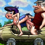 Stone Age sex party - The Flintstones Porn