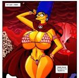 Sweet mature porn comics - Marge Simpson porn