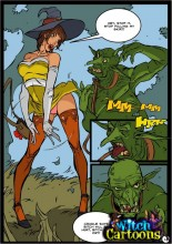 My favorite mature comics - Witch Porn