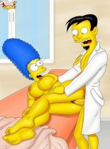 Marge Simpson nude comix - Marge Simpson porn